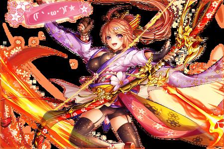 (Swirl Sakura) Konohana-Sakuya Close