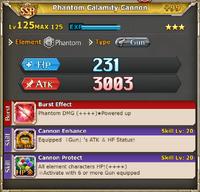 MLB Phantom Calamity Cannon +99