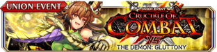 Crucible of Combat vs The Demon - Gluttony - Small Banner