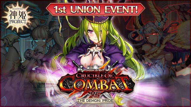 Crucible of Combat vs The Demon - Pride Banner