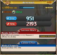MLB Behemoth +99