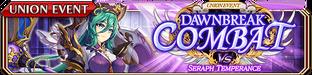 Dawnbreak Combat vs The Seraph - Temperance - Small Banner