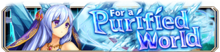 For a Purified World (Epic Quest) - Small Banner
