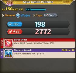 FLB Aqua Justice Patience +99