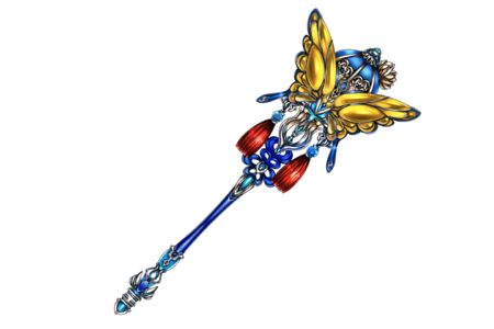 Magnificent Butterfly Staff