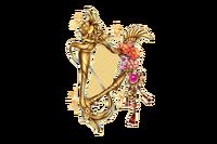 Lacquer Princess' Harp