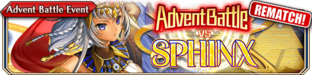 Advent Battle vs Sphinx (Rematch) - Small Banner