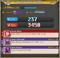 FLB Beast Hammer Nebthet +99