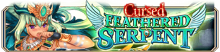 Cursed Feathered Serpent (Epic Quest) - Small Banner