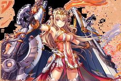 (Kaleidoscopic Flame Blade) Frey Close