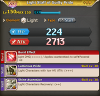 FLB Light Staff of Guilty Pride +99