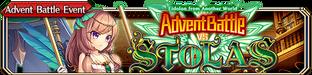Advent Battle vs Stolas - Small Banner