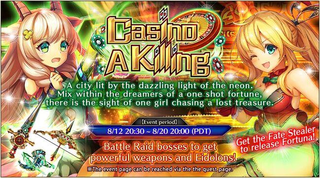 Casino a Killing - Banner