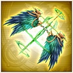Hachiman Twin Wings Portrait
