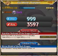 MLB Evil Kaiser Dragoon +99