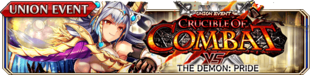 Crucible of Combat vs The Demon - Pride - Small Banner