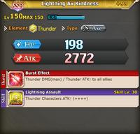 FLB Lightning Ax Kindness +99