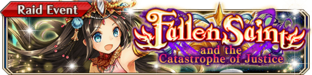 Fallen Saint and the Catastrophe of Justice - Small Banner