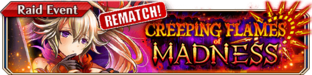 Creeping Flames of Madness (Rematch) - Small Banner