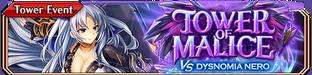 Tower of Malice vs Dysnomia Nero - Small Banner