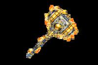 Fantasy Hammer Bolt Impact