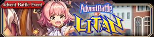 Advent Battle vs Litan - Small Banner