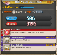 FLB Holy Winged Lance Enoch +99
