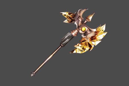 Light Crystal Axe