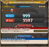 MLB Nova Kaiser Dragoon +99