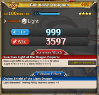MLB God Kaiser Dragoon +99