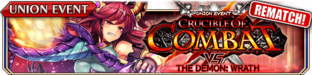 Crucible of Combat vs The Demon - Wrath (Rematch) - Small Banner