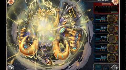 Kamihime Project - Girimehkala Summon Attack