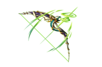 Snake Tail Bow Uraeus