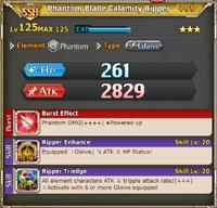 MLB Phantom Blade Calamity Ripper +99