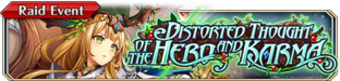 Distorted Thought of the Hero and Karma - Small Banner