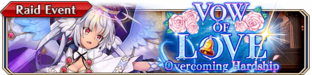 Vow of Love Overcoming Hardship - Small Banner