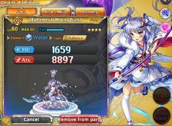 (Ephemeral Moon) Diana with +99 Bonus Stats