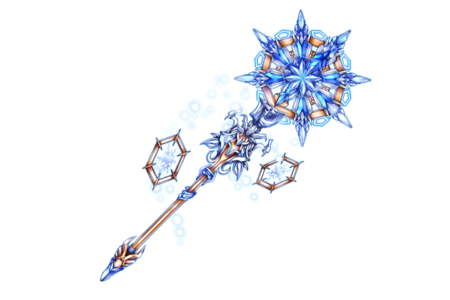 Snow Crystal Staff