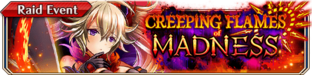 Creeping Flames of Madness(Small Banner)