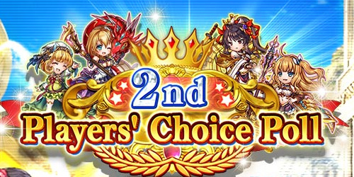 2nd Players Choice Character Poll