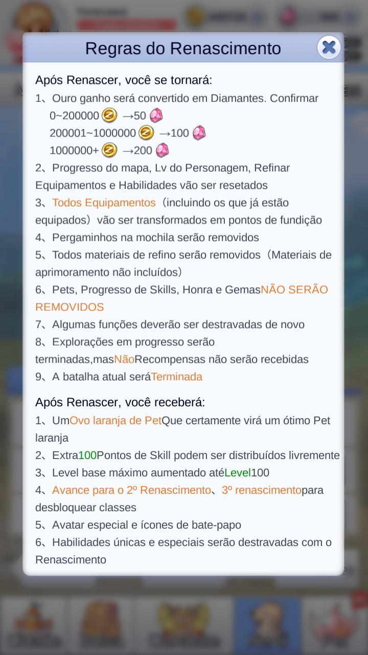 Renascer | Wiki Ragnarok Mobile IDLE Poring | FANDOM powered