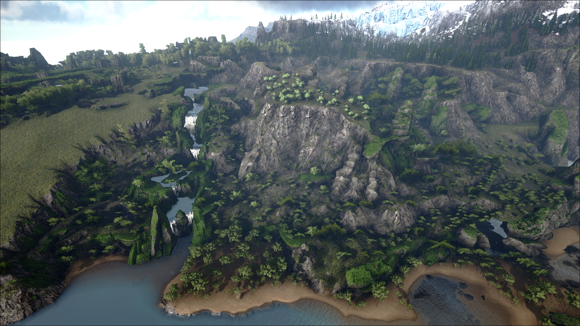 Rocklands | Ragnarok - ARK:Survival Evolved Map Wiki