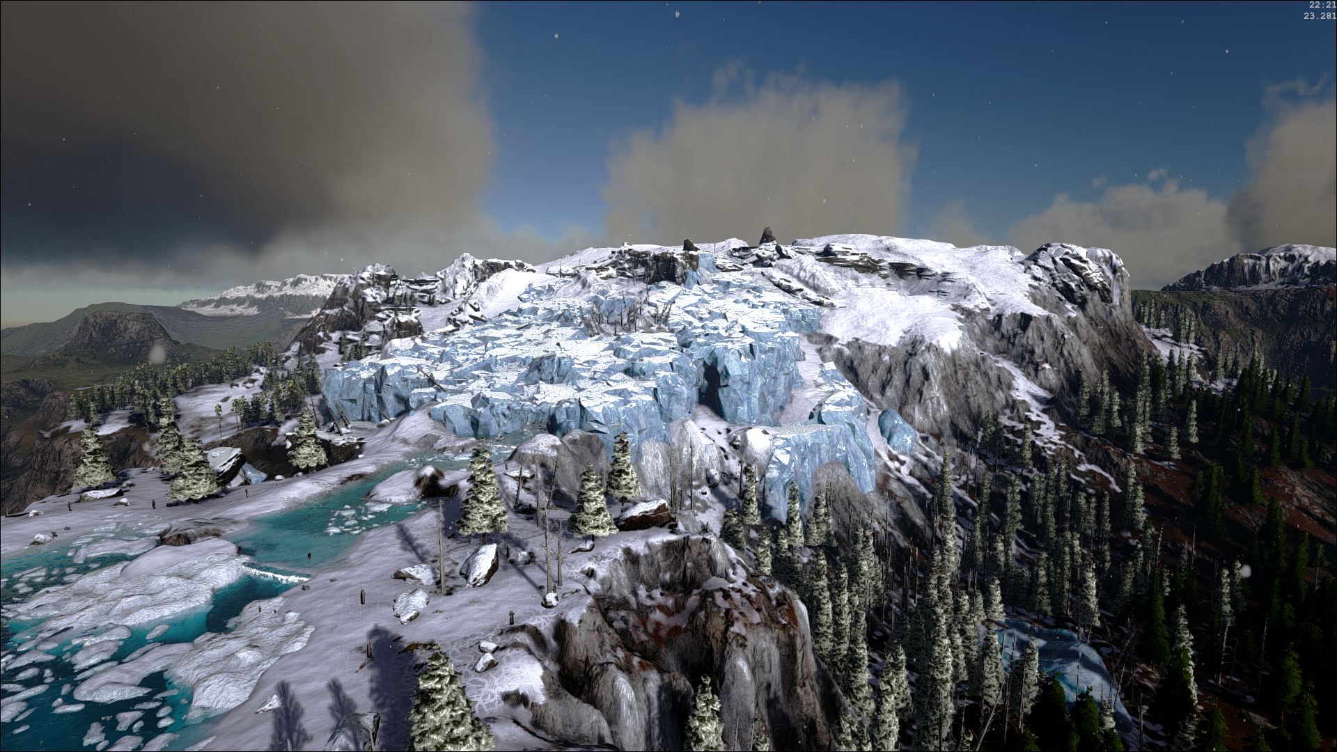 Icy Mountain Tops | Ragnarok - ARK:Survival Evolved Map Wiki