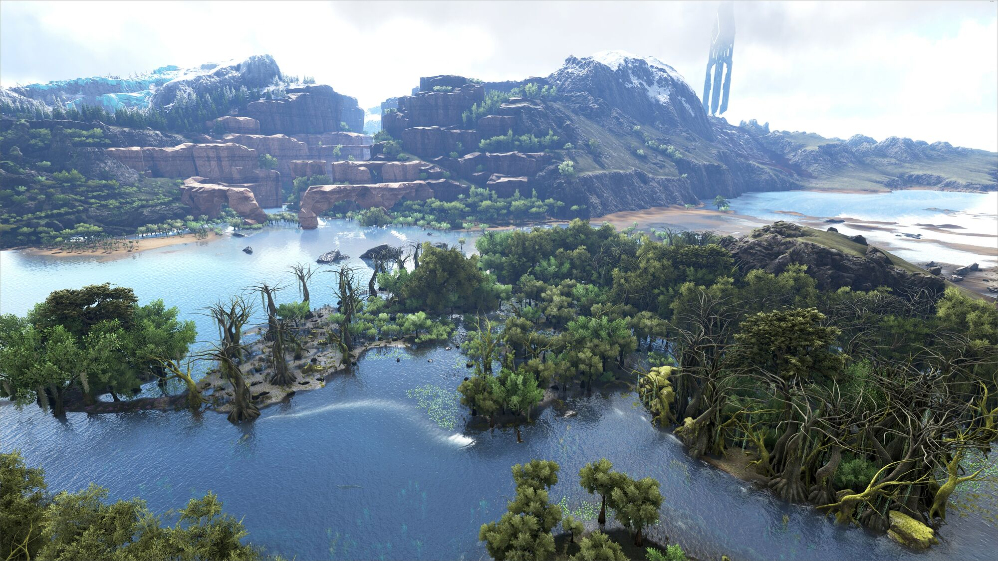 Swamp | Ragnarok - ARK:Survival Evolved Map Wiki | FANDOM