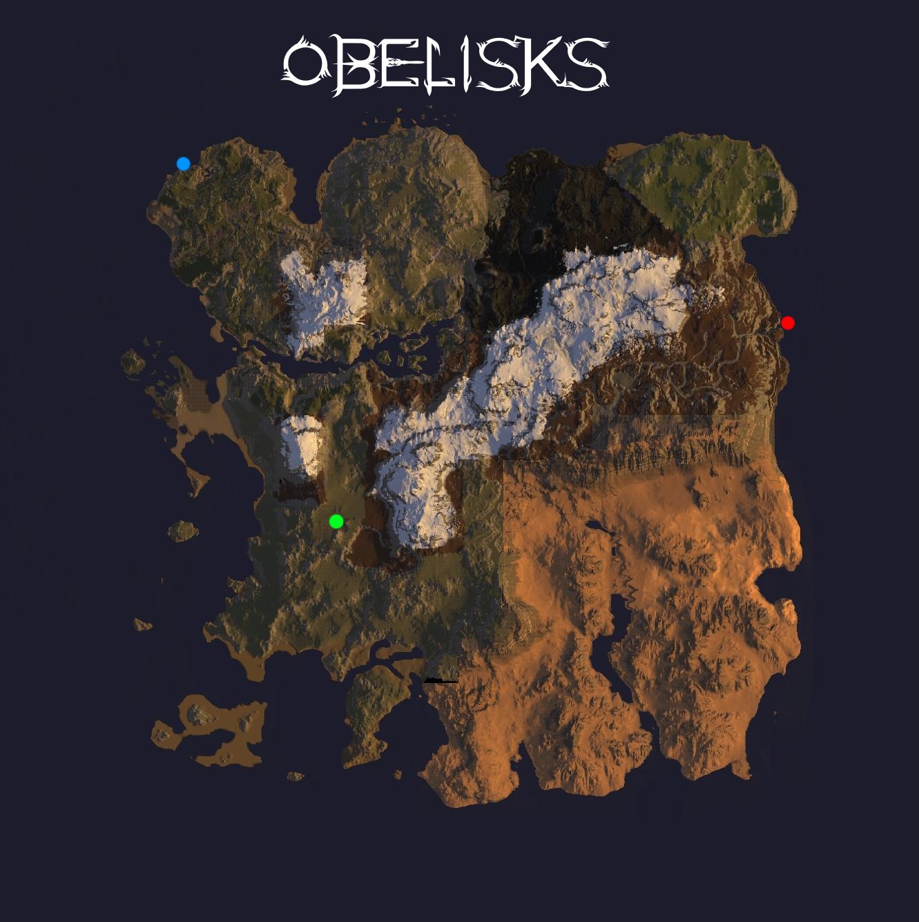 Ark Aberration Karte.Obelisks Ragnarok Ark Survival Evolved Map Wiki Fandom