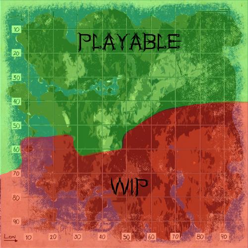 Rag playable area