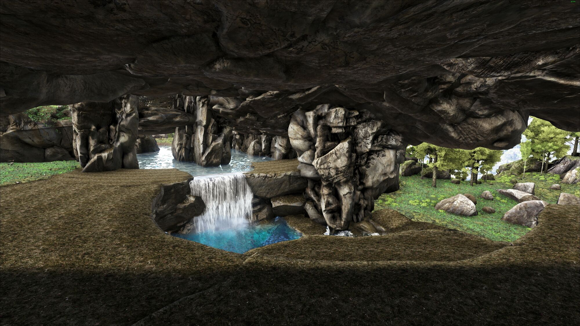Kuri Cave | Ragnarok - ARK:Survival Evolved Map Wiki