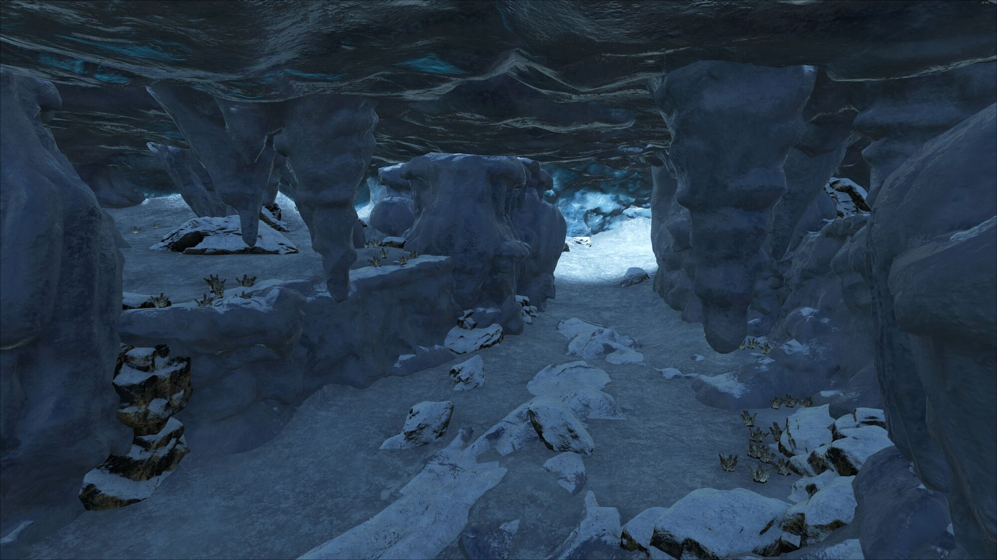 List of Synonyms and Antonyms of the Word: ice cave ark