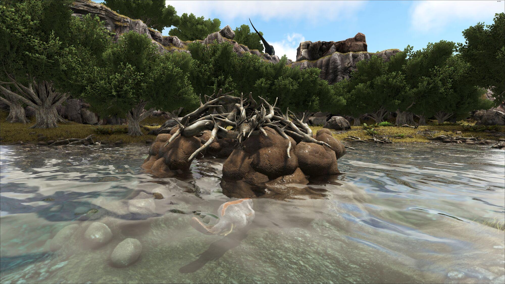 Castoroides + Giant Beaver dam Ark: Survival Evolved XBOX ...   Ark Beaver Dam
