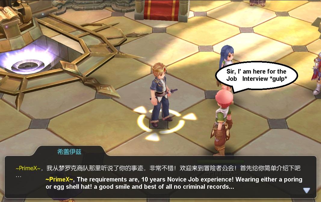 Swordman job change quest | RagnarokOnlineMobile Wiki